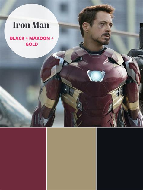 captain america  iron man   superhero color