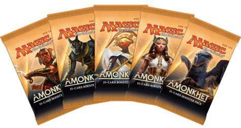 amonkhet packaging and planeswalker decks