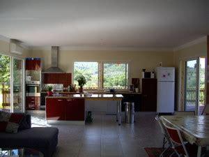 salon salle a manger cuisine 50m2 le de villaboisherve villa en bois a louer