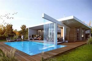 Maison Design Avec Piscine Fontaine