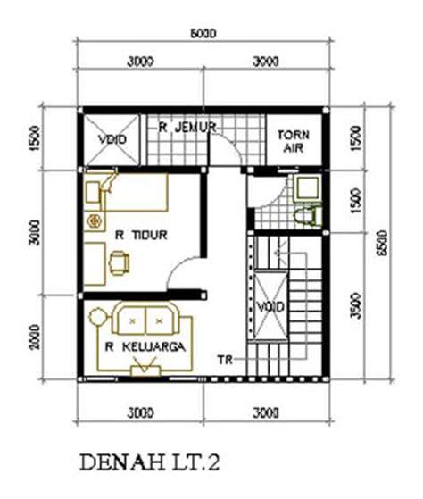 contoh denah renovasi kpr btn desain rumah sederhana