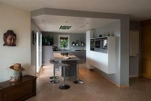 cuisine et ilot central gallery of cuisine ilot central With amazing meuble ilot central cuisine 5 comment fabriquer un 238lot de cuisine