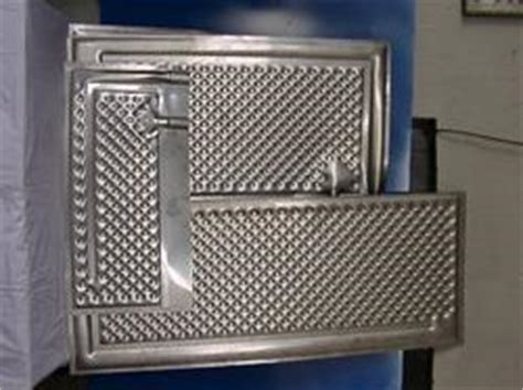 manual cup sealing machine stainless steel dimple plate manufacturer  noida