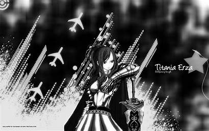 Erza Fairy Tail Scarlet Wallpapers Animals Tails