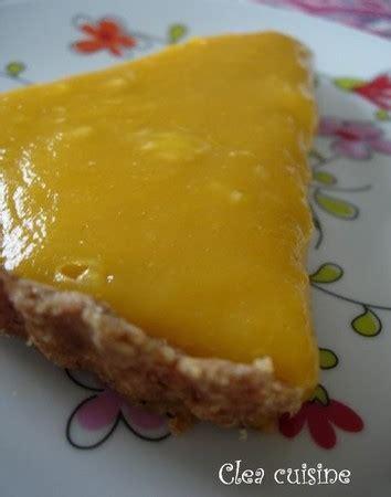 clea cuisine tarte citron tarte mangue et citron clea cuisine