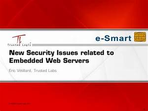 New Security Issues related to Embedded Web Servers