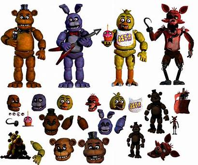 Fnaf Animatronics Resources Deviantart Favourites