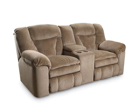 sofa with two recliners sofa recliner recliner loveseat with console for