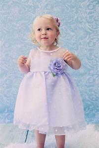 Lila klänning baby