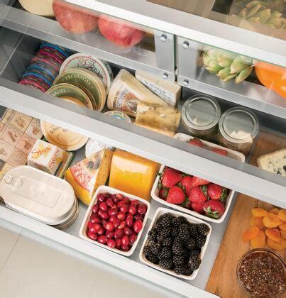 ge monogram zipnh panel ready counter depth french door refrigerator   cu ft