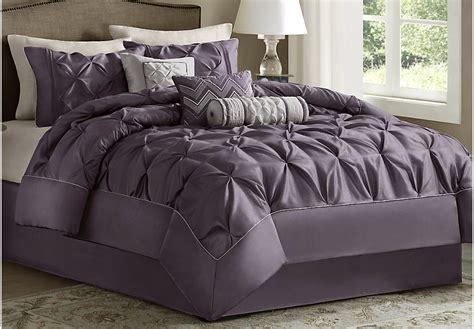 plum comforter sets queen janelle plum 7 pc comforter set linens