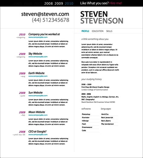 Top Cv Templates by Top Resume Templates Free Sles Exles