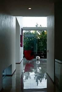 Modern Cube House With Elegant Geometric Shapes Interior