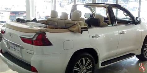 lexus lx  convertible shows   dubai dealership