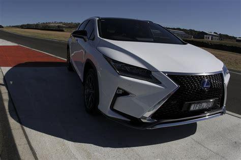 auto review  lexus rx   sport