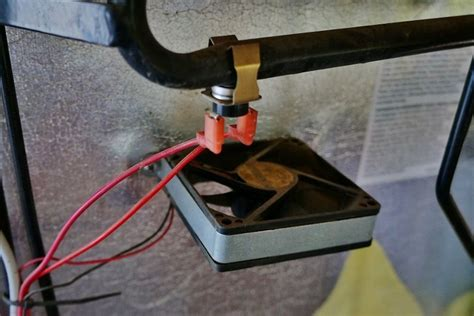 replacing  noisy dometic dm rv fridge fan