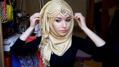 hijab tutorial  eid youtube