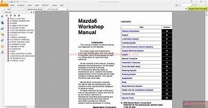 Mazda 6 Full Workshop Manual Inc Engine Manual