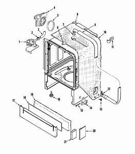 Maytag  Maytag Dishwasher Parts Diagram