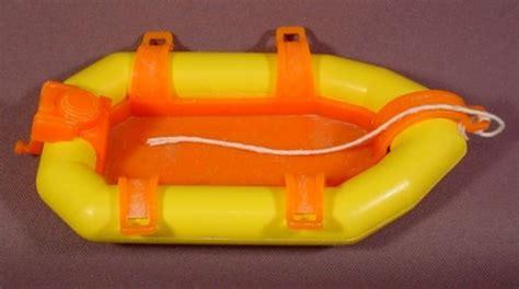 Yellow Zodiac Boat by Fisher Price Adventure Series Yellow Zodiac