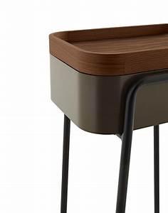 Table Ligne Roset : wooden coffee table bedside table couliss by ligne roset design philippine lemaire ~ Melissatoandfro.com Idées de Décoration