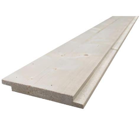 1 X 8 Shiplap Pine by 1 In X 6 In X 8 Ft Pine Resawn Shiplap Board 1002225331