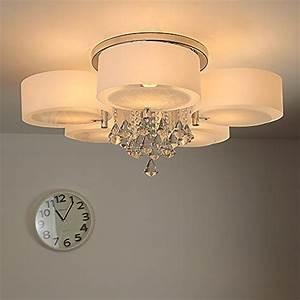 Lampe 5 Flammig : natsen modern deckenlampe 5 flammig kristall ~ Lateststills.com Haus und Dekorationen