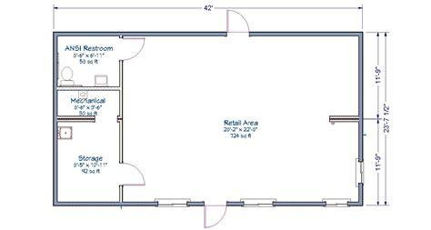 floor l with storage storage room floor plan retail store tlc modular homes