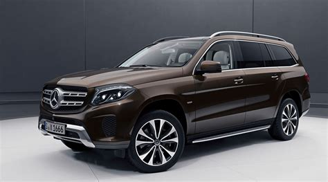 New Mercedes Gls by Revealed New Mercedes Gls Grand Edition