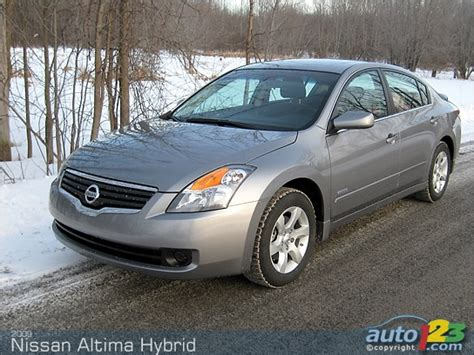 2009 Nissan Altima Hybrid by Auto123 New Used Auto Shows Car Reviews