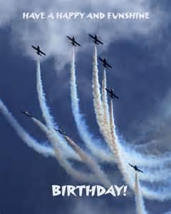 Airplane Happy Birthday Wishes