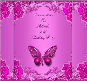 butterfly birthday cake template printable - birthday menu templates 19 free psd eps indesign
