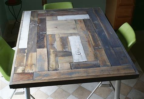 Reclaimed Wood Table Top Resurface DIY   Hometalk
