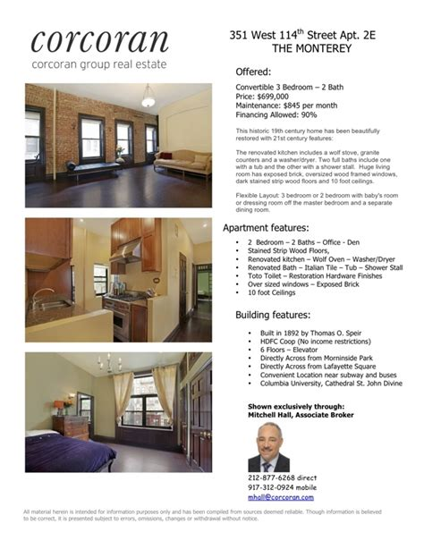 Real Estate Listing Sheet Template by Active Kodak Challenge All About Flyers
