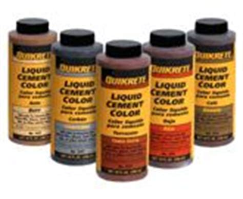 home depot quikrete floor mud use cement color while mixing up your quikrete to get a cool colored concrete finish