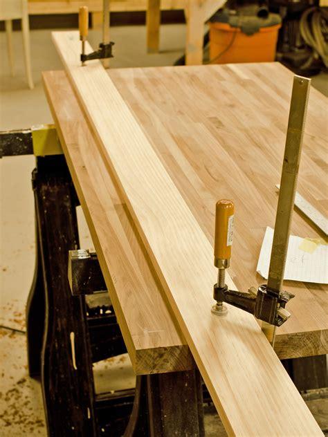 how to cut a butcher block countertop do it yourself butcher block kitchen countertop hgtv
