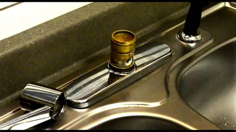 replace moen kitchen single handle faucet cartridge wow blog