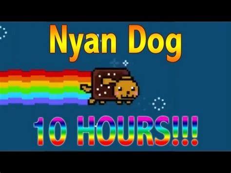 nyan dog  hours nyan cat parody youtube