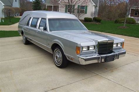 Find Used 1989 89 Lincoln Town Car Miller-meteor Hearse