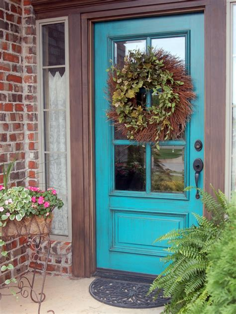 colored front doors yellow front door color for brick house with rectangle