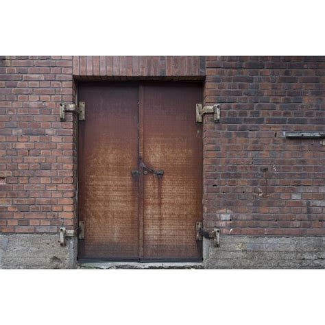 bright door inch rust imagery laminated vivid perfectly attractive brick frames factory fits industrial many colors poster