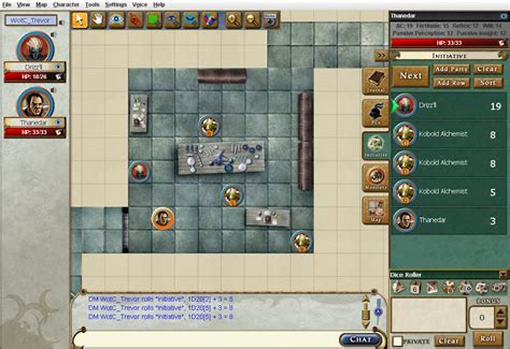 #The #Dungeons #& #Dragons #Virtual #Table #Announcement #Weem