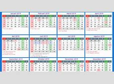 Kalender Indonesia Tahun 2019 Kalender Indonesia