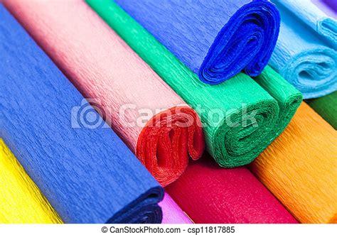Papier, krepa. Razem., głębokość, wielobarwny, papier, ostrość, połączony, goffered, mały ...