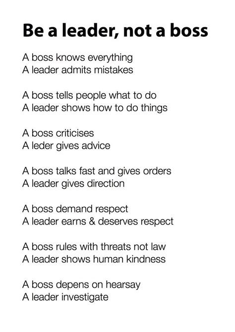 leader   boss leader quotes
