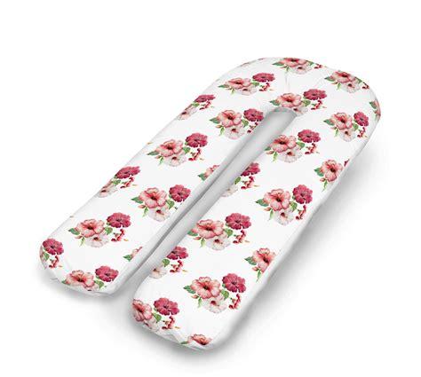 u shaped pillow 3d floral prints u pillow u shaped orthopedic
