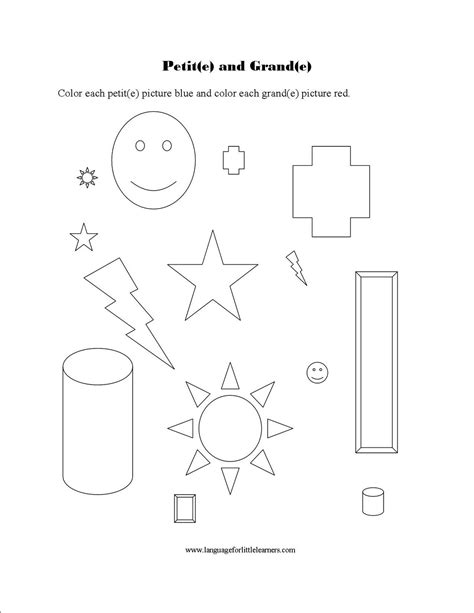 15 Best Images of French Introductions Worksheet ...