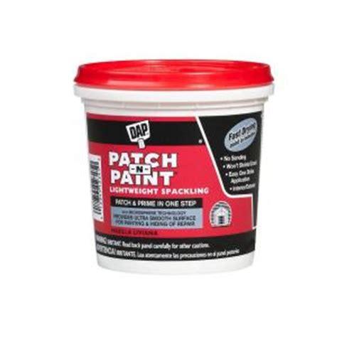 dap floor patch home depot dap patch n paint 1 2 pt white lightweight spackling 24