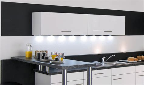 eclairage mural cuisine eclairage led plan de travail cuisine ziloo fr