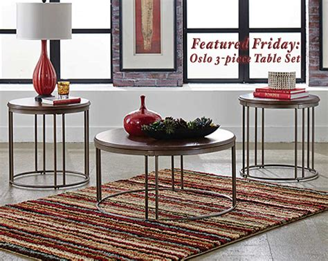 featured friday oslo 3 piece table set american freight